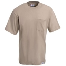 Dickies Shirts: Men's Desert Sand 1144624 DS 2 Pack Cotton Pocket Tee Shirts