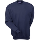 Hanes Sweatshirts: Men's Navy F260 NVY Ultimate Cotton Crewneck Sweatshirt