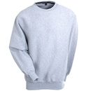 Sport-Tek Sweatshirts: Men's Athletic Grey F280 ATH Heavyweight Crewneck Sweatshirt