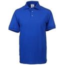 Jerzees Shirts: Men's Royal Blue 6 Ounce Jersey Knit Polo Shirt J100 BLU