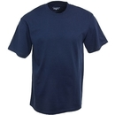 Champion Shirts: Men's T525 NVY Navy Ring-Spun Cotton T-Shirt