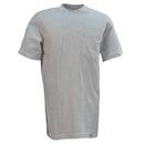 Dickies Shirts: Men's 1144624 AG Grey Two Pack Cotton Pocket Tee Shirts