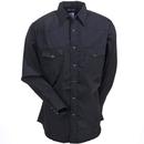 Wrangler Shirts: Men's Black 75214 BK Western Sport Long Sleeve Shirt
