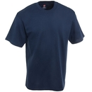 Hanes Shirts: Men's Tagless Cotton Navy Blue Tee Shirt 5250T NVY