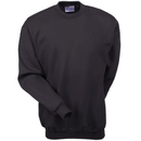 Hanes Sweatshirts: Men's Black F260 BLK Ultimate Cotton Crewneck Sweatshirt