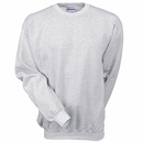 Hanes Sweatshirts: Men's Ash F260 ASH Ultimate Cotton Crewneck Sweatshirt
