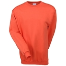 Port  & Company Sweatshirts: Men's Orange PC90 ORG Crewneck Sweatshirt