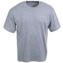 Hanes Shirts: Men's Grey Short Sleeve Cotton Blend Tee Shirt 5170 LST