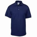 Jerzees Shirts: Men's Navy Jersey Knit Polo Shirt J100 NVY