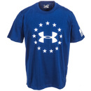 Under Armour Shirts: Freedom 1268759 997 Navy Blue Men's Tactical T-Shirt