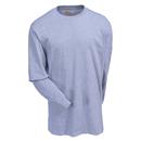 Carhartt Shirts: Men's Heather Grey 103142 034 Graphic RWB Long Sleeve Shirt