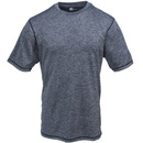 Polar King Shirts: DRYve Athletic Fit 824 06 Grey Men's Crewneck T-Shirt