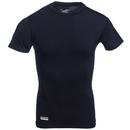 Under Armour Shirts: Men's 1216007 001 Black Tactical HeatGear Compression Tee Shirt