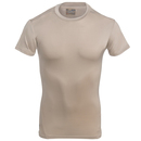 Under Armour Shirts: Men's 1216007 290 Tan Tactical Heatgear Compression Tee Shirt