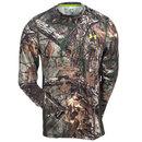 Under Armour Shirts: Men's Realtree Camo Long Sleeve Hunting Tee Shirt 1259147 946
