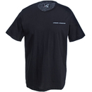 Under Armour Shirts: Men's 1277085 001 Black Short-Sleeve Charged Cotton Tee Shirt