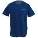 Under Armour Shirts: Men's 1277085 997 Blackout Navy Cotton Microthread Short-Sleeve Tee Shirt
