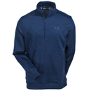 Under Armour Sweatshirts: Men's 1281267 408 Blue Water-Repellent Academy Storm 1/4 Zip Sweatshirt
