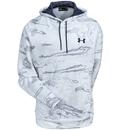 Under Armour Sweatshirts: Men's 1285582 956 Hunting Camo Snow Storm Icon Hooded Sweatshirt