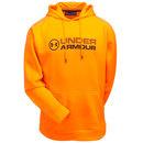 Under Armour Sweatshirts: Men's Storm Fleece 1313751 825 Orange Stacked Hoodie