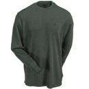 Wolverine Shirts: Men's W1202270 341 Olive Green Long-Sleeve Walden Tee Shirt