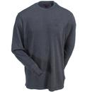 Wolverine Shirts: Men's W1202270 045 Grey Long-Sleeve Walden Tee Shirt
