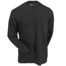 Wolverine Shirts: Men's W1203830 003 Black Long-Sleeve Knox Tee Shirt