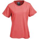 Wolverine Apparel Shirts: W1204570 630 Women's Coral Short Sleeve Lena Tee Shirt