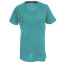 Wolverine Apparel Shirts: Women's W1204590 463 Blue Piper Short Sleeve Tee Shirt