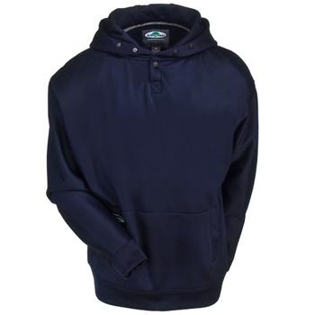 Arborwear Sweatshirts: Men's 400440 NVY Navy Blue Tech Double Thick Pullover Sweatshirt