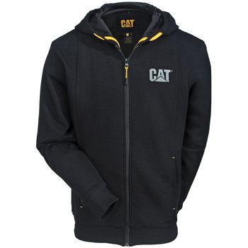 Caterpillar Sweatshirts: Men's Black 1910038 016 Performance Lined Zip Sweatshirt