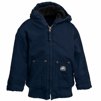 Polar King Jackets: Toddler's Hooded Fleece Jacket 358 07