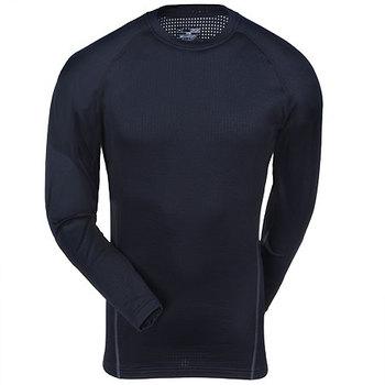 Under Armour Shirts: Men's UA Base 2.0 Black 1239724 001 Thermal Crew Shirt