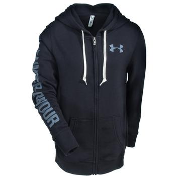 Under Armour Sweatshirts: Women's 1283255 001 Black Full-Zip Favorite Fleece Sweatshirt
