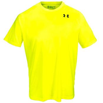 Under Armour Shirts: Tactical Hi Vis Yellow Men's 1312377 731 Short Sleeve Tee Shirt