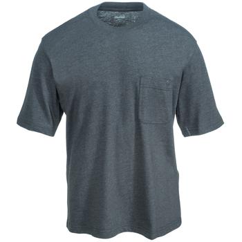 Wolverine Shirts: Men's W1203440 045 Grey Short-Sleeve Knox Tee Shirt