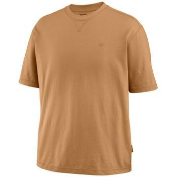 Wolverine Shirts: Men's W1203720 231 Benton Chestnut Short Sleeve Tee Shirt