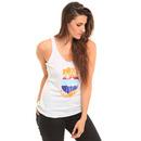 Roxy Vacay Palms Cali T Shirt in Egret Heather