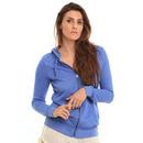 Roxy Signature Zip Hoodie in Dazzling Blue