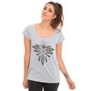 Volcom Henna Spirit T Shirt in Heather Grey