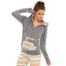 Rip Curl Southwest Zip Hoodie in Grey