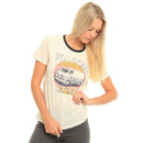 Volcom Sunset Voyage T Shirt in Vintage White.