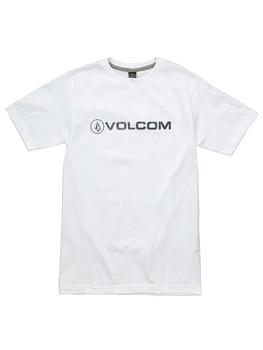 Volcom Euro Pencil T Shirt in White