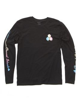 Channel Islands L/S Rail Sleeve T Shirt in Black