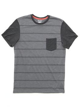 Billabong Zenith Printed T Shirt in Dark Grey Heather