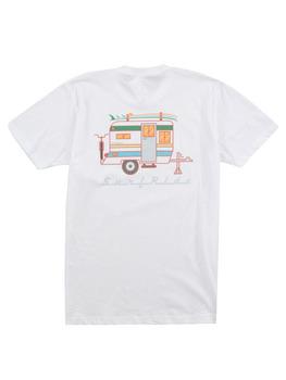 Surf Ride Surfstream T Shirt in White