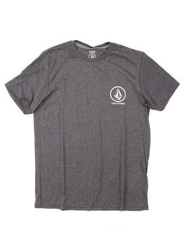 Volcom Forever Stone T Shirt in Heather Black