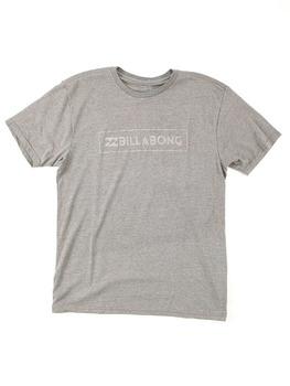 Billabong Unity Push-Thru T Shirt in Dark Grey Heather