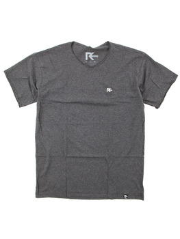 Reset Mellow V T Shirt in Heather Grey