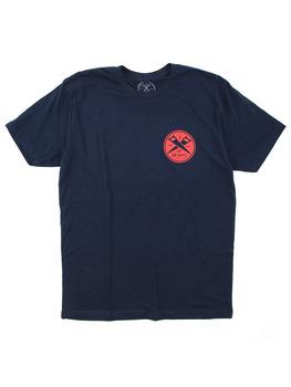 Surf Ride OG Pocket T Shirt in Navy